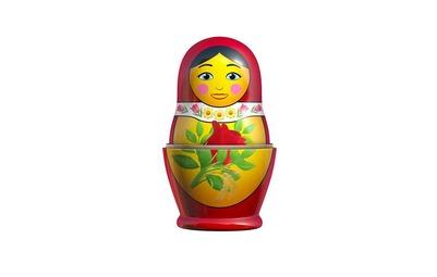 Компания Apple создала эмодзи русской матрешки