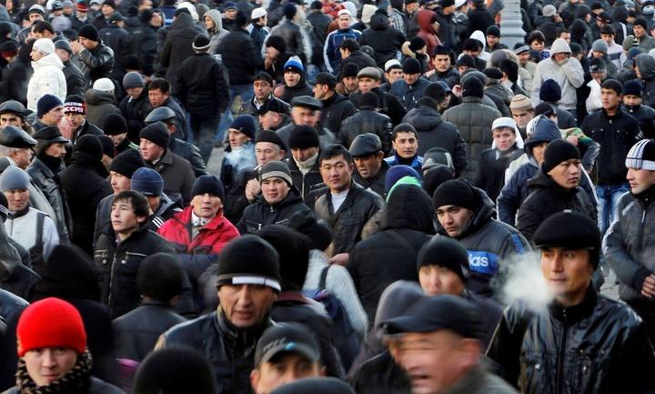 Более 90% общего прироста населения составили мигранты