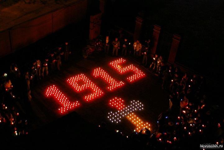 В Ростове прошла приуроченная к 100-летию геноцида армян акция