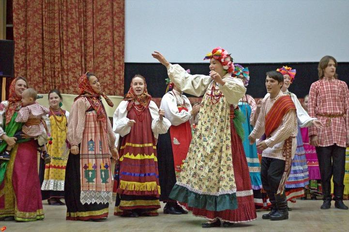"""Детский этнографический фестиваль музыки и танца """"Традиция"""""""