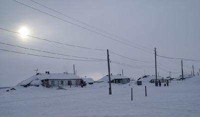 На Таймыре замерзает поселок долган и нганасан