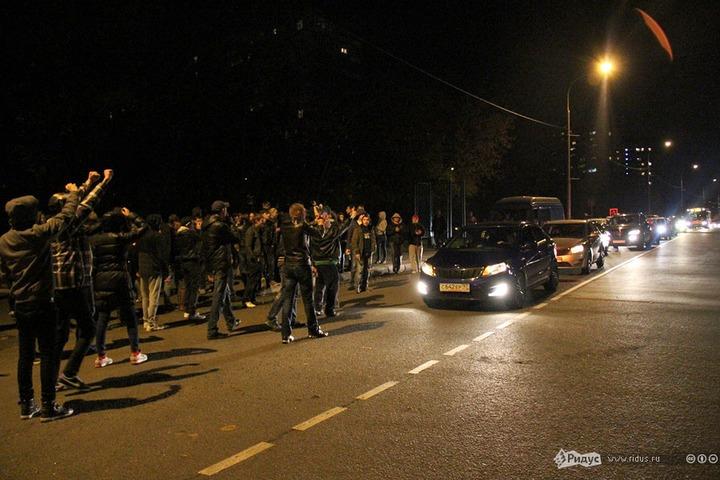 Московская полиция перекрыла Манежную площадь
