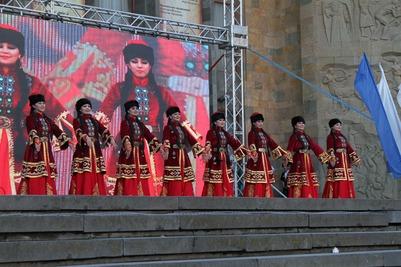 Дагестанские студенты представили ремесла народов Кавказа на фестивале этнической культуры