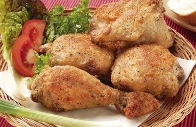 Гедлибже (курица в сметанном соусе)