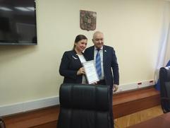 Гильдии межэтнической журналистики вручили благодарность от Комитета ГД по делам национальностей
