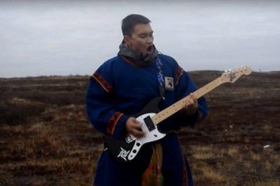 Ямалец спел в тундре песню группы Metallica на ненецком языке [ВИДЕО]
