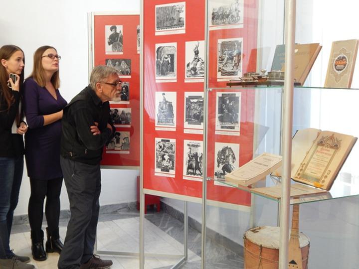 В Ставрополе открылась выставка эпосов народов Кавказа