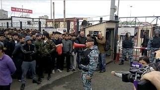 """Пострадавшего в ТЦ """"Москва"""" мигранта выписали из больницы"""