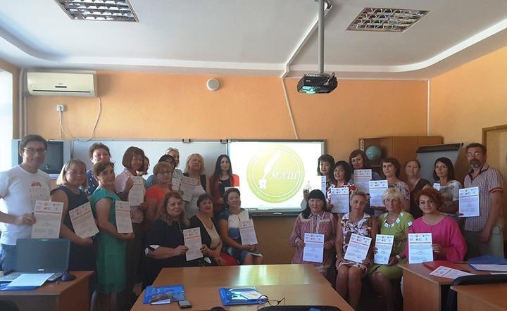 Международная школа учителей родного языка прошла в Евпатории