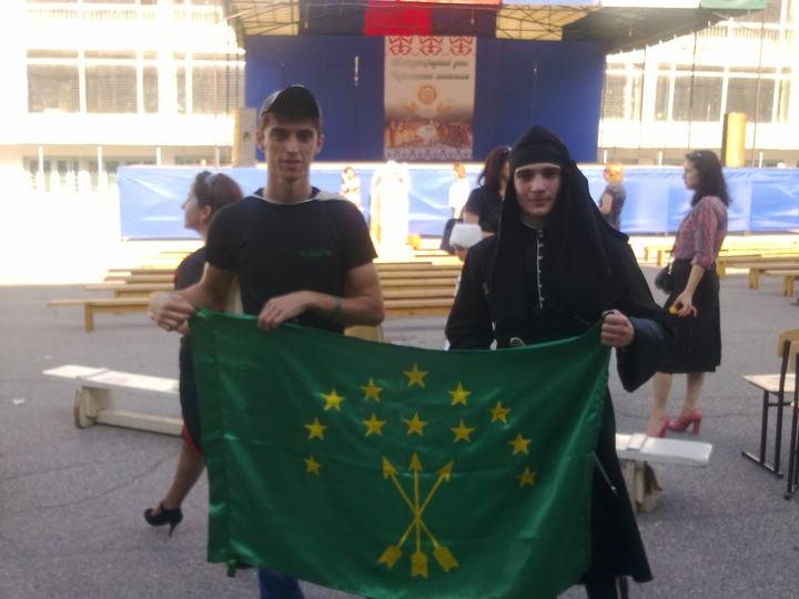 Сирийские черкесы поблагодарили Россию за военную помощь Сирии