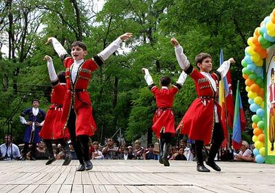 На открытии Олимпиады в Сочи станцуют лезгинку