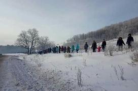 На акцию в защиту шихана Куштау в Башкортостане вышло более 500 человек