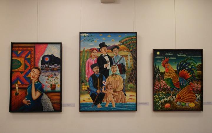 Выставка татарских художников в Московском доме национальностей