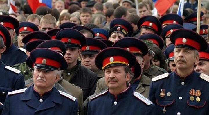 Журналисты и блогеры заставили бросивших патрулирование казаков вернуться