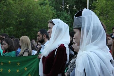 Черкесы Москвы вспомнили жертв Кавказской войны