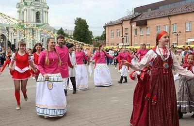 """Фестиваль традиционной культуры """"Тульский заиграй"""" собрал более 500 участников"""