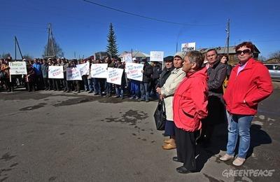 """Коми-ижемцы на митинге против """"Лукойла"""" выдвинули компании ультиматум"""