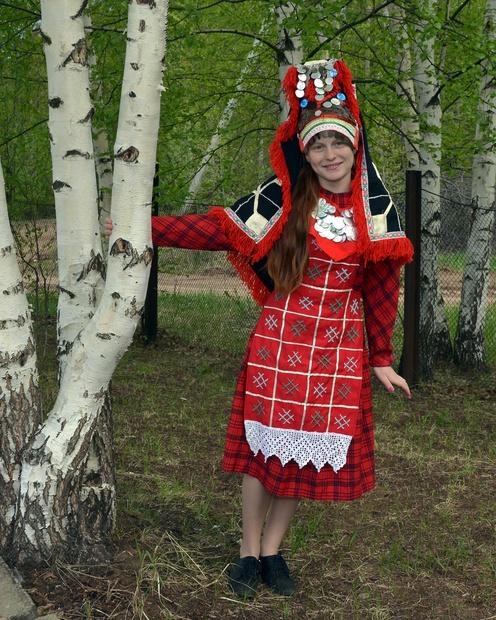 Удмуртский костюм
