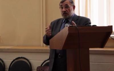 Выступление Михаила Васильева на семинаре по этнической журналистике
