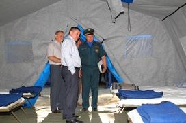 Губернатор Ростовской области продлил режим ЧС из-за потока беженцев