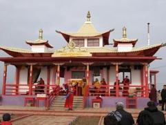 Первый буддийский храм в Москве начнут возводить в 2014 году