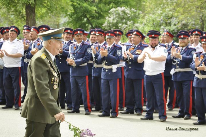 Казаки-танкисты готовятся к параду Победы в Волгограде и Ростове