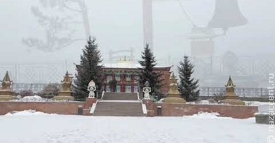 Буддистский храм Бурятии
