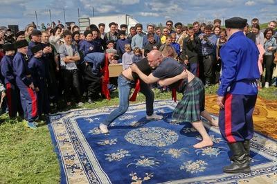 Казаки сойдутся с шотландцами в кулачном бою на ростовских Шермициях