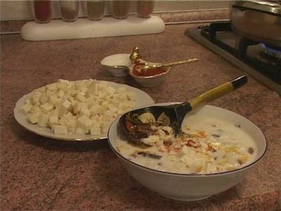 Ащрыкъ - молочный кукурузный суп