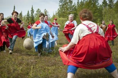 Традиционные саамские игры прошли в Мурманской области