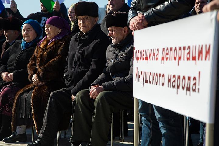 Накануне годовщины депортации в Ингушетии запретят увековечивать память Сталина