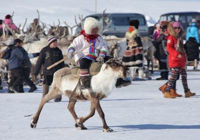 """Дети аборигенов посоревнуются в Якутии на """"Играх детей Арктики"""""""