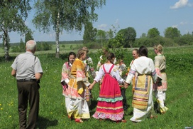 В Смоленской области вспоминали старинные русские обряды