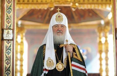 """Патриарх Кирилл призвал народ не стесняться слова """"русский"""""""