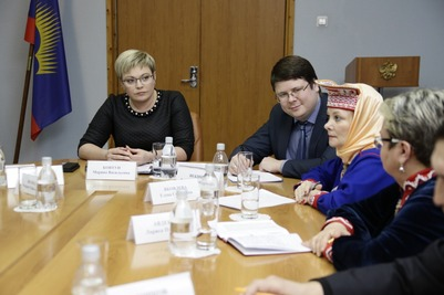 Губернатор Мурманской области встретилась с членами Саамского собрания