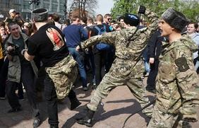 Совет по правам человека заинтересовался действиями казаков на оппозиционной акции