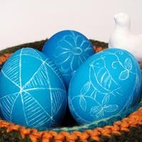 Мастер-класс по традиционному украшению пасхальных яиц: как сделать шкрябанки