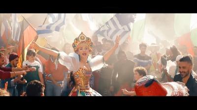 Наталия Орейро надела кокошник и спела по-русски для ЧМ-2018 (видео)