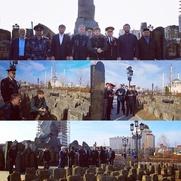 Мемориал жертвам сталинской депортациии частично перенесли в центр Грозного