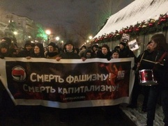 В Москве задержаны участники антифашистского шествия в память о Маркелове и Бабуровой