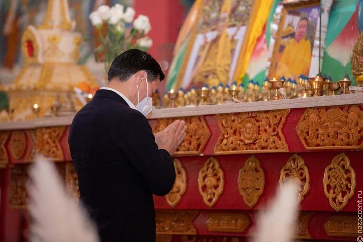 У буддистов Калмыкии начался священный месяц Үрс Сар