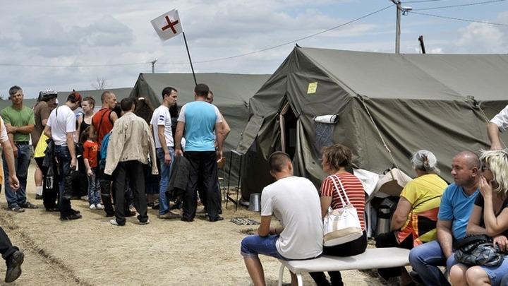 Временные пункты размещения для беженцев развернули в 66 регионах России
