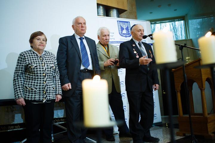 В Мемориальной синагоге в Москве вспомнили боровшихся с нацистами евреев