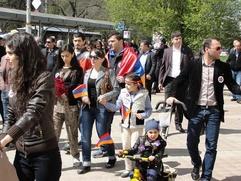 Армяне Крыма вспомнили жертв геноцида народа
