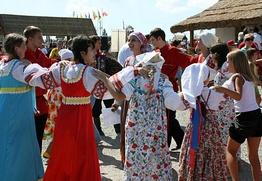 В Атамани прошел фестиваль галушек