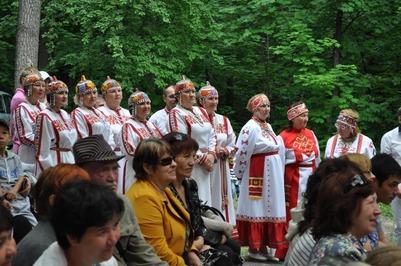 В Ульяновске отгуляли чувашский Акатуй