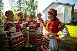 В Ленобласти провели фестиваль вепсской культуры