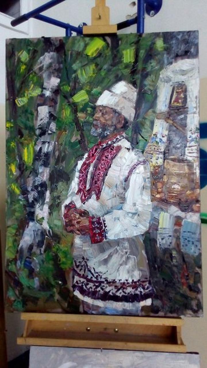 На всероссийском пленэре художники познакомились с традициями марийцев