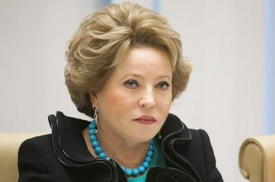 Матвиенко: Россия не будет терпеть притеснение русских за рубежом