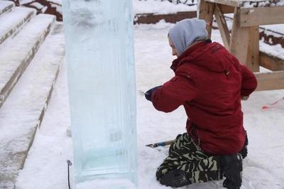 Ледяные скульптуры на тему удмуртских мифов появятся в Ижевске